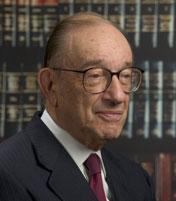 Alan Greenspan Gave A Keynote Speech At The HIMSS Conference