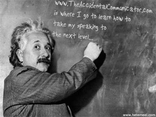 Albert Knows What He's Talking About...