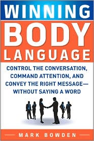 Mark Bowden's Book: Winning Body Language