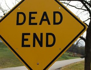 You don't want to lead your audience to a dead ending…